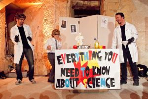 Everything you NEed to Know about Science (More or Less) - More or Less Theatre