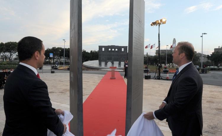 Valletta 2018 inaugurates the art installation Prospettiva
