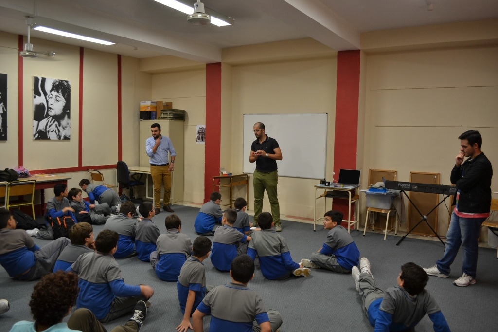 Workshop with Students at St Albert the Great College, Valletta