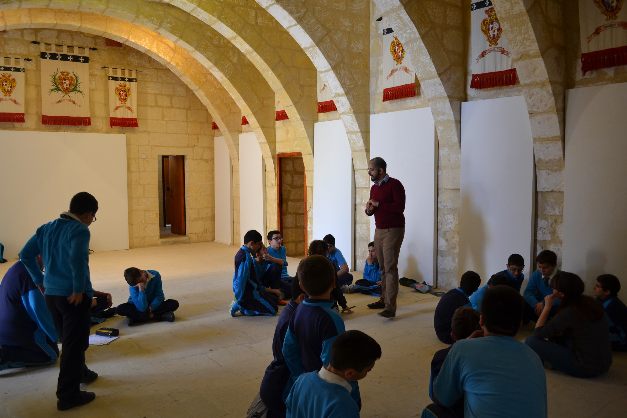 Gozo Music Workshop in the Sentinella Halls
