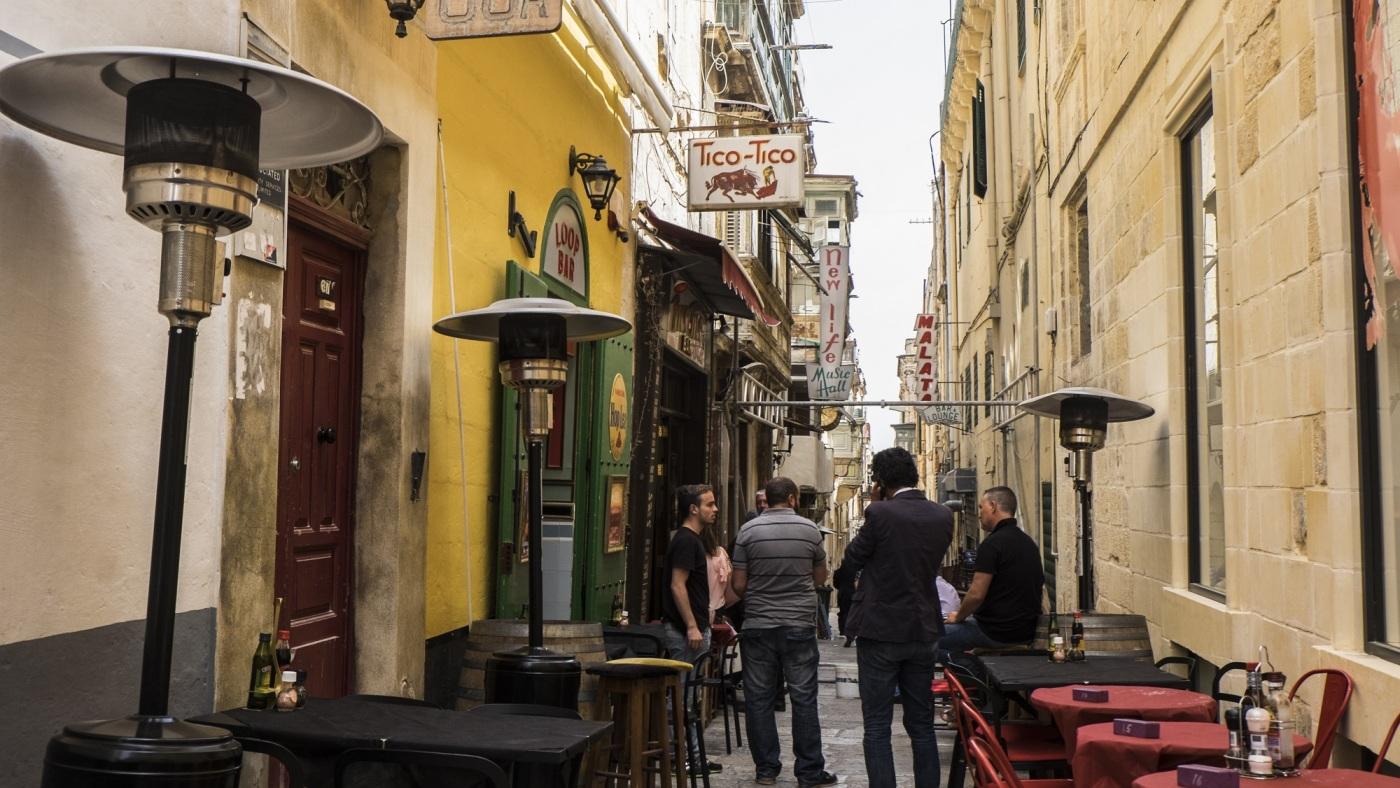 Strait Street Valletta Malta