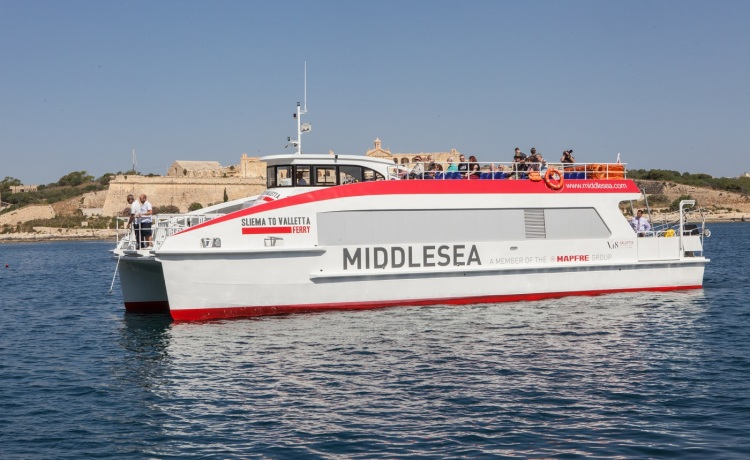 New timetable and ferry transportation service between Valletta, Sliema and the Three Cities