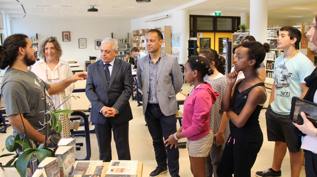 Valletta 2018 Foundation visits European School, Brussels
