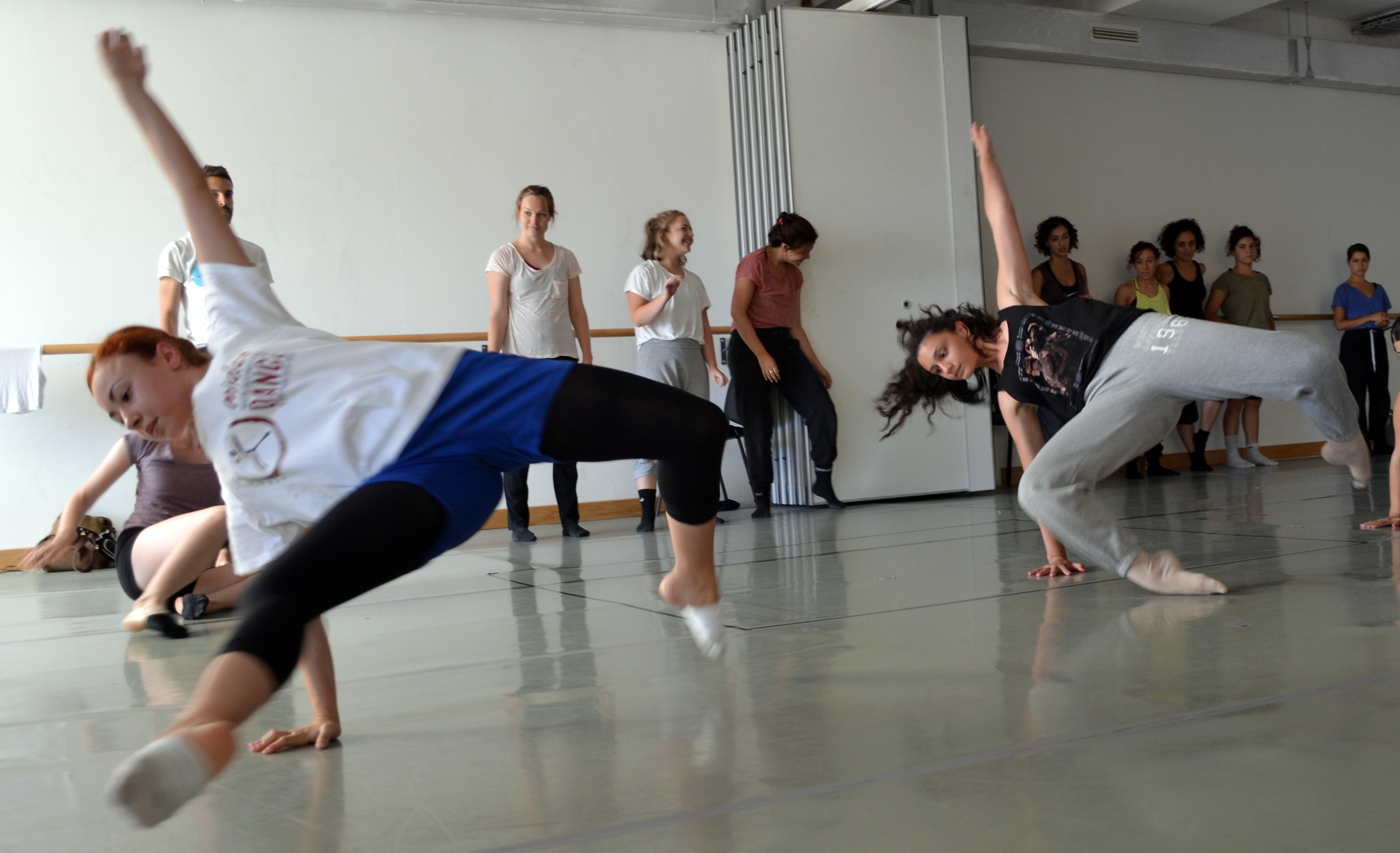 Dancers at the ŻfinMalta Masterclass last Saturday.