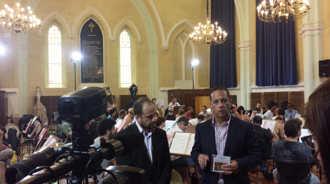 Valletta 2018, MPO iniedu CD ta' Charles Camilleri irrekordjata mid-ditta Naxos