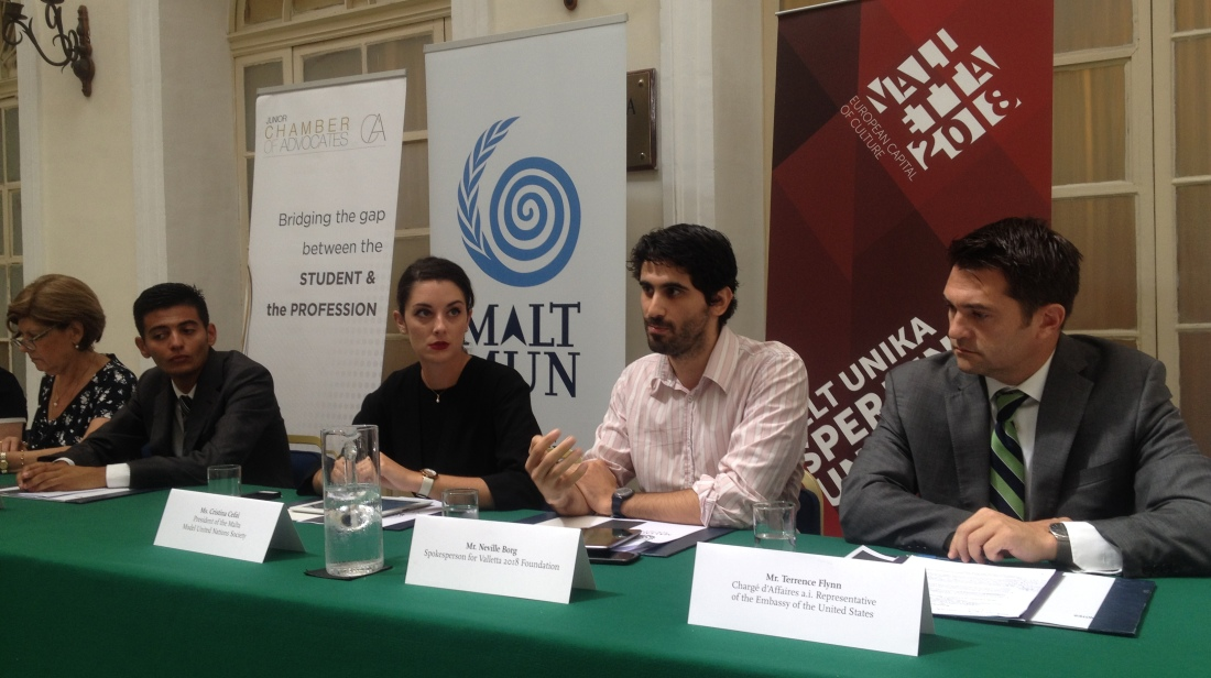 Valletta 2018 Present at the (MALTMUN) Society Conference