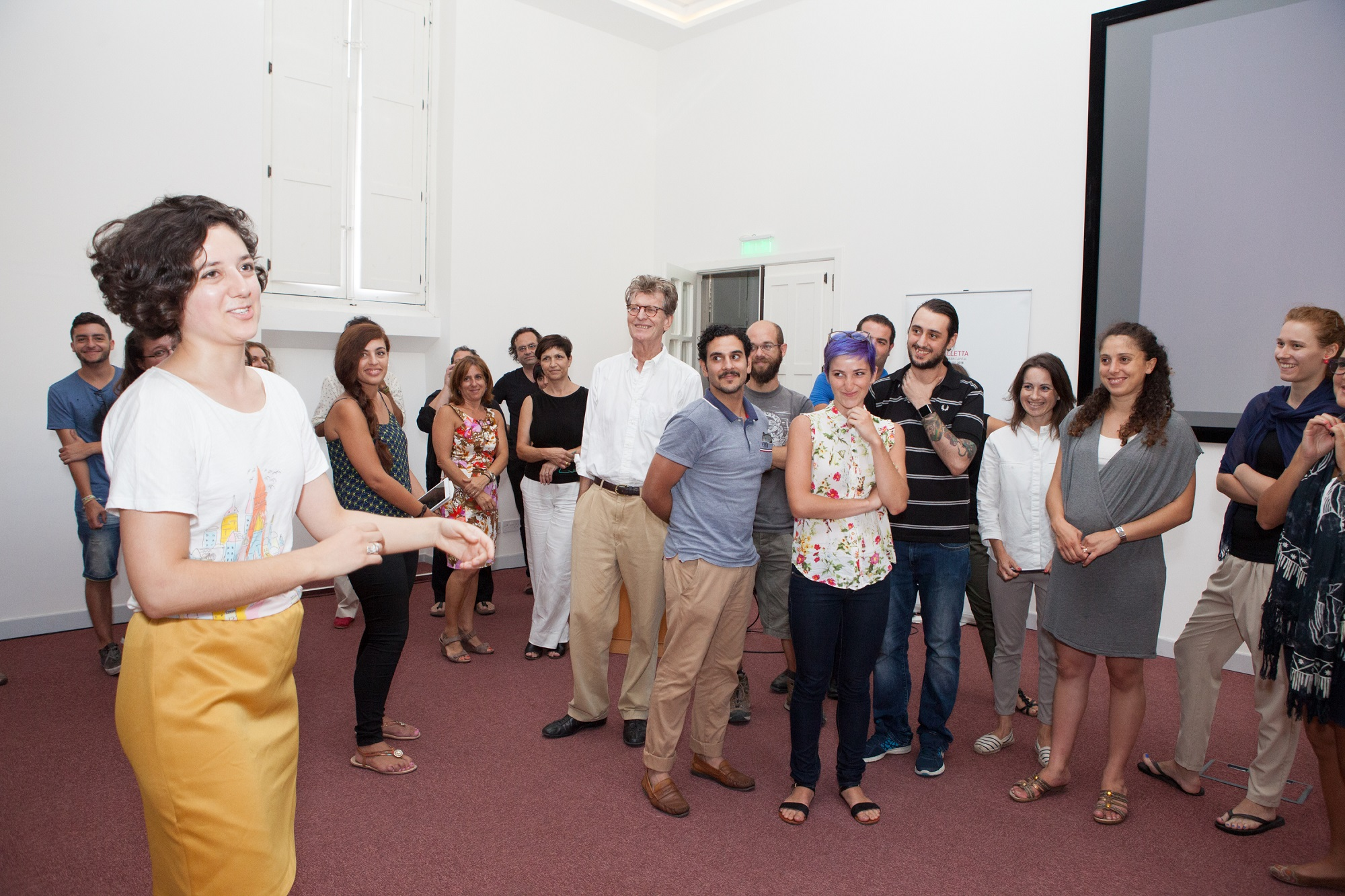 Participants from last year's Curatorial School