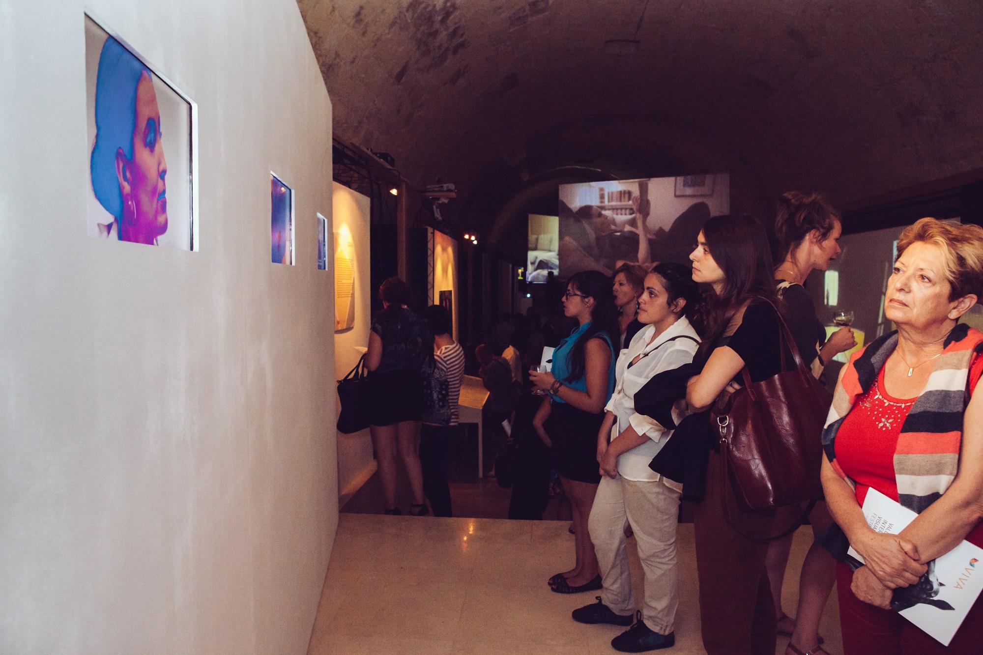 Opening exhibition VIVA 2014. Photo: Elisa von Brockdorff