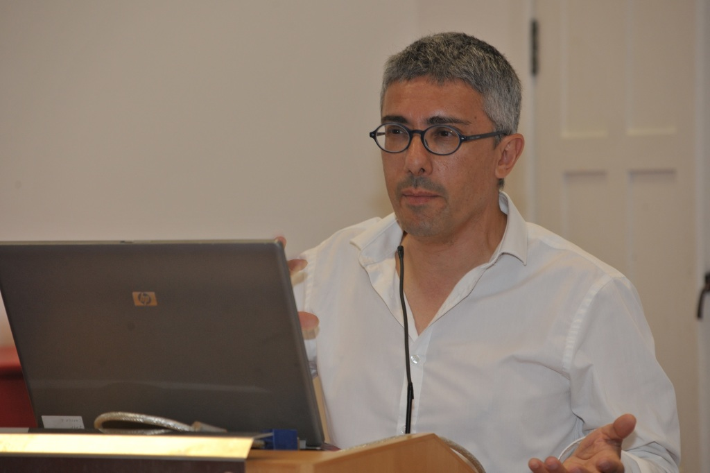 Dr. Raphael Vella at this year's Curatorial School.
