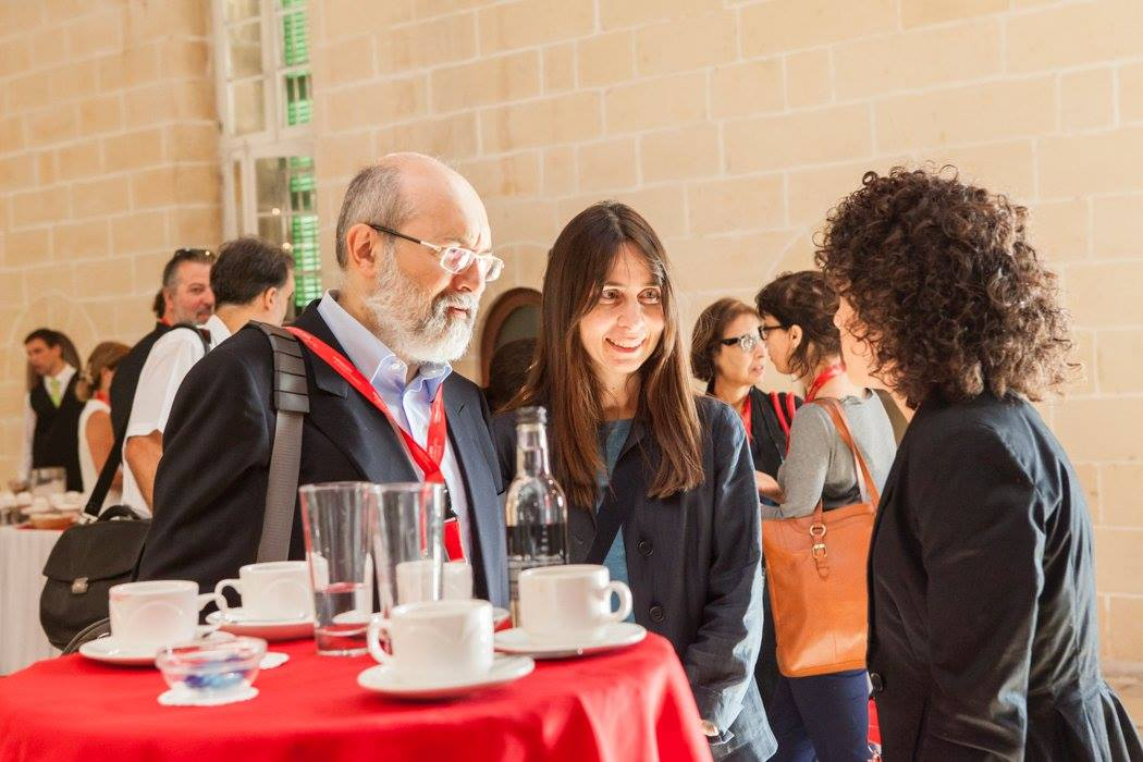 Discussions at the conference. Photo credit: Elisa von Brockdorff
