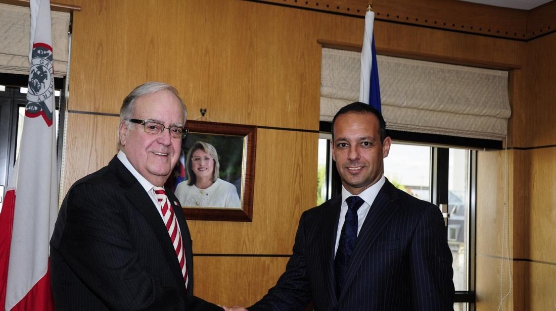Valletta 2018 Chairman in London