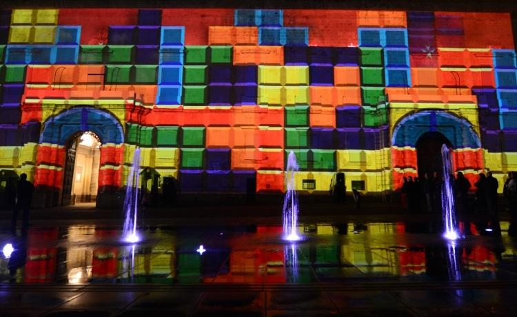 Christmas Projections Light up the Grandmaster's Palace at Pjazza San Ġorġ