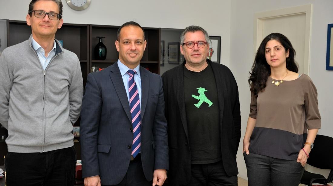 International Artistic Advisor for the Valletta 2018 Foundation