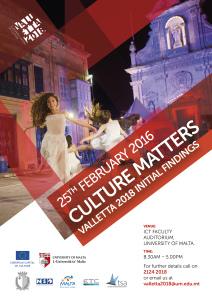 VALLETTA2018 Seminar Poster