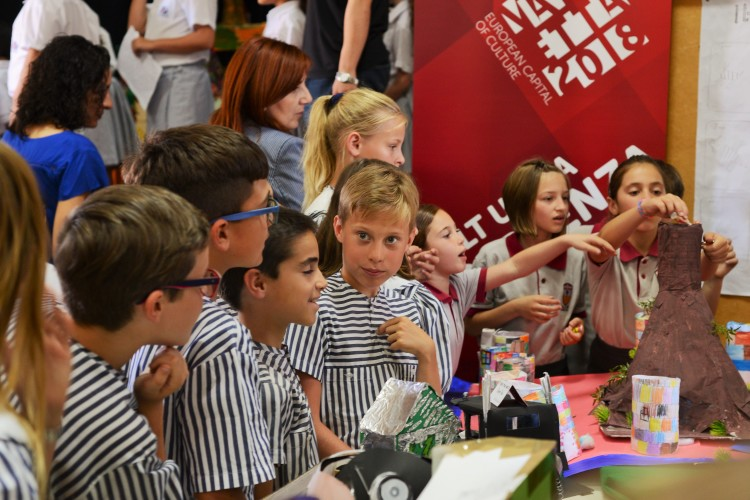 Children create own culture as part of Valletta 2018 project