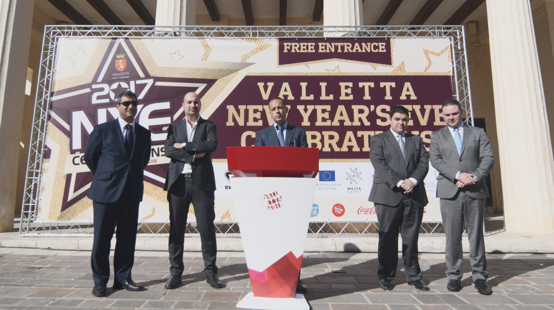 Valletta National NYE Celebrations Details Announced