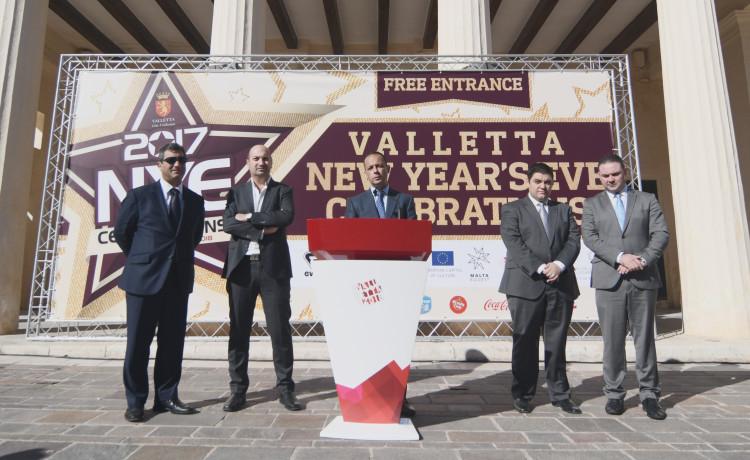 Valletta National NYE Celebrations Details Announced