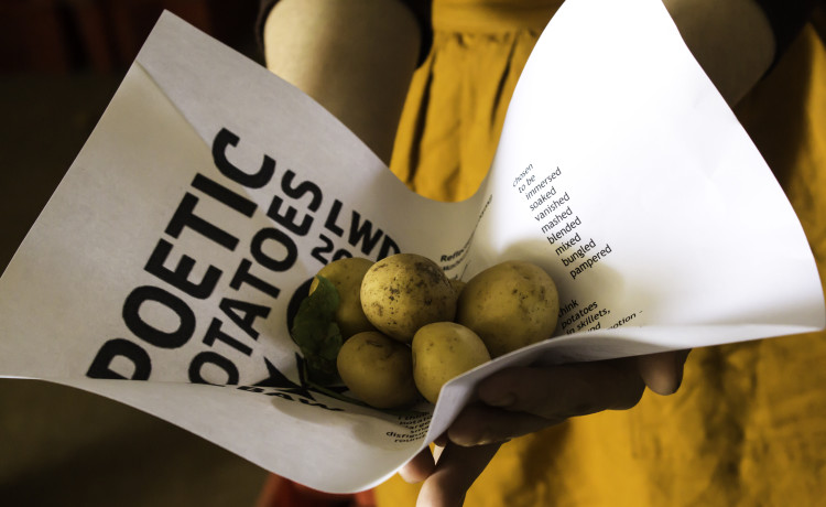 Image for Poetry in Potato Bags: A little reading with Bob
