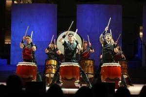 Mugenkyo Taiko Drummers photo by Stephen Buhagiar574