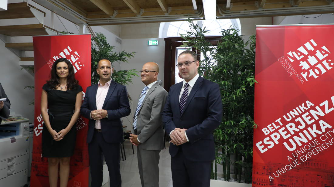 The Valletta 2018 Foundation inaugurates its new offices