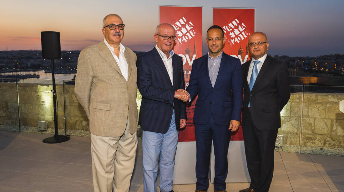 Valletta 2018 signs a partnership agreement with Bank of Valletta