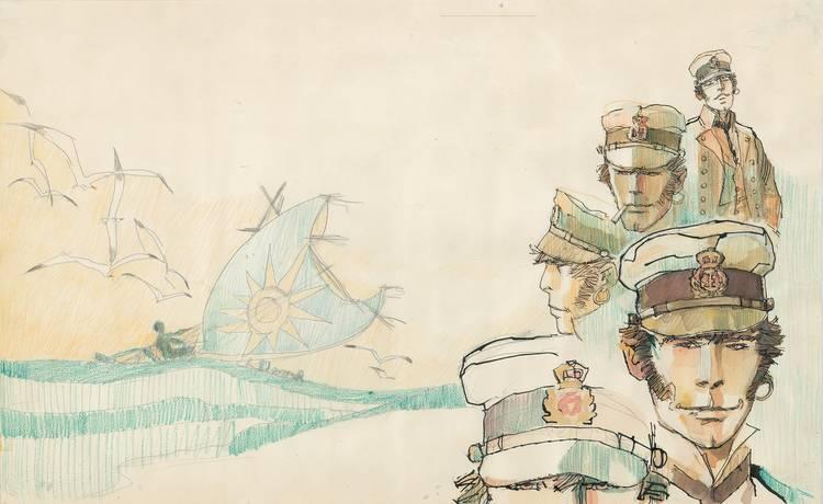 Image for Corto Maltese: The Ballad of the Salty Sea