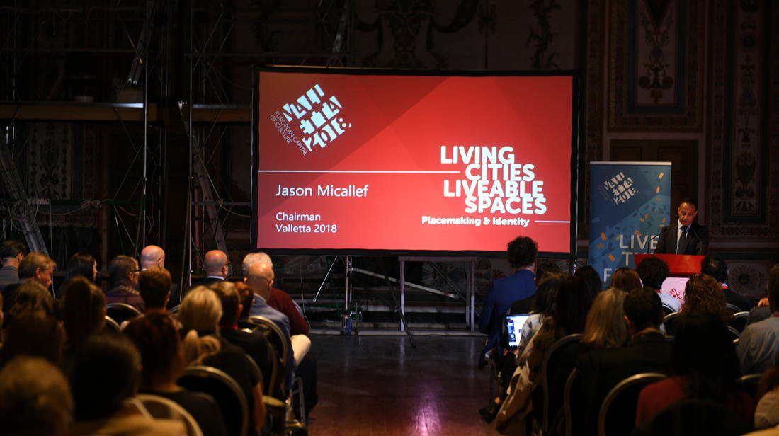 Valletta 2018 Conference Living Cities, Liveable Spaces Opens