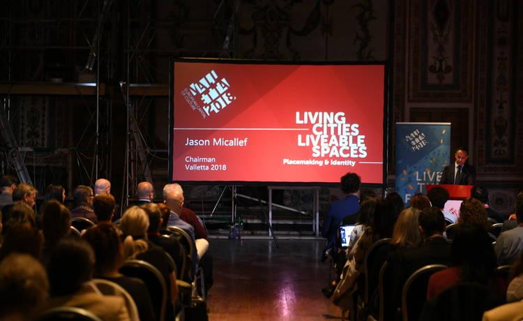 Tiftaħ il-Konferenza ta' Valletta 2018 Living Cities, Liveable Spaces