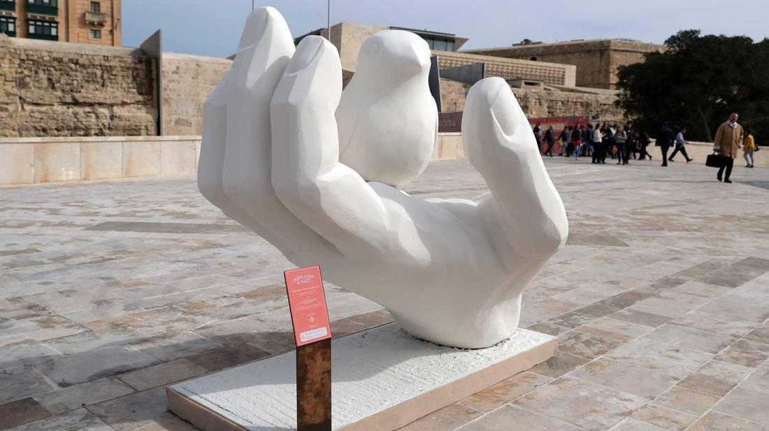 Valletta 2018 Tvara Installazjonijiet Artistiċi tal-Proġett 'Hekk Jgħid Il-Malti'