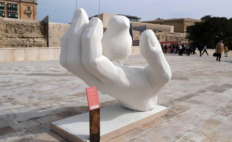 Valletta 2018 Unveils 'Hekk Jgħid Il-Malti' Public Art Installations