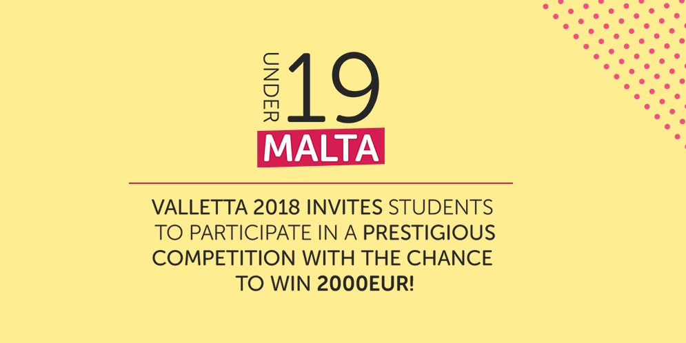 Win a trip to Austria with Valletta 2018's Under 19 Competition for Youths