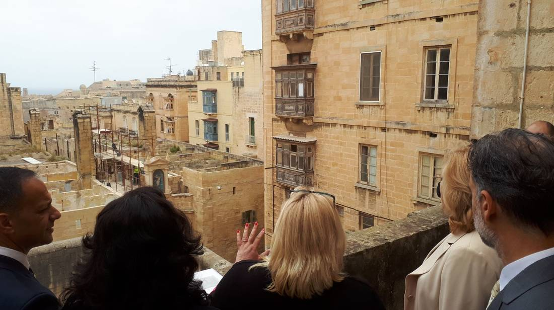 European Commissioners visit Valletta Design Cluster