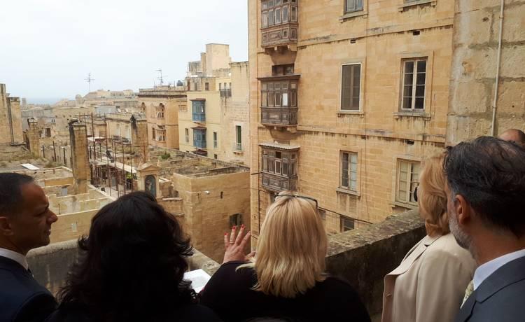 European Commissioners visit Valletta Design Cluster