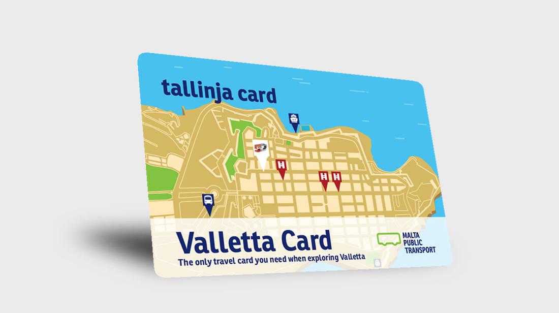 New Valletta Card offers travel options and tourist attractions