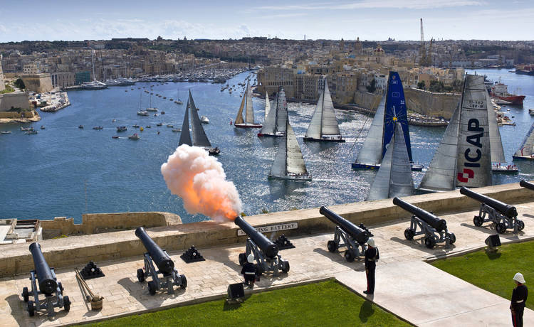 Image for The Rolex Middle Sea Race 2018