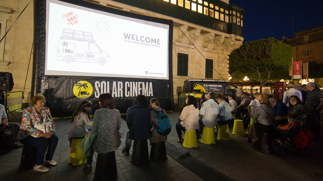 Solar Cinema makes its way to Malta for Valletta 2018