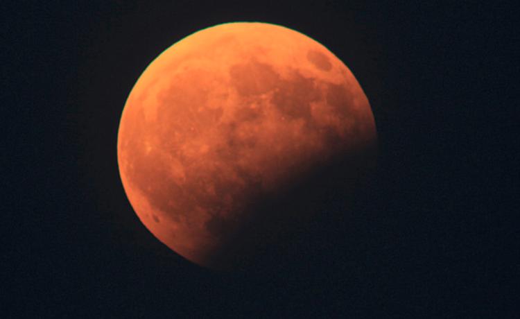 Image for Lunar Eclipse at Fort St Elmo
