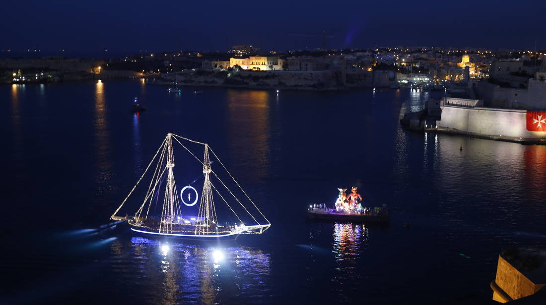 Two days to go for largest spectacle in the Grand Harbour