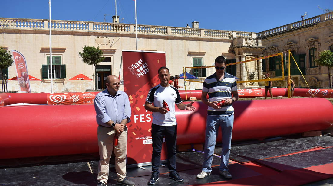 Valletta Beach Volley in the City launched