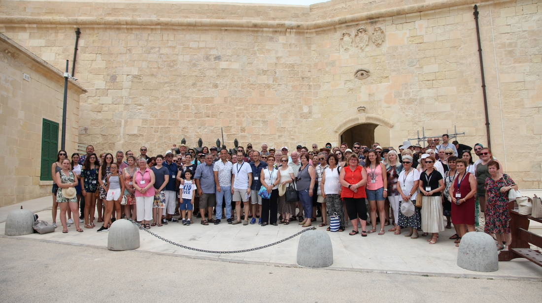150 Delegates Representing the European Charter of Rural Communities Visit Valletta