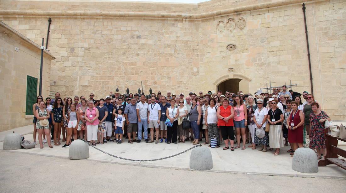 150 Delegat li jirrappreżentaw il-Karta Ewropea tal-Komunitajiet Rurali jżuru l-Belt Valletta