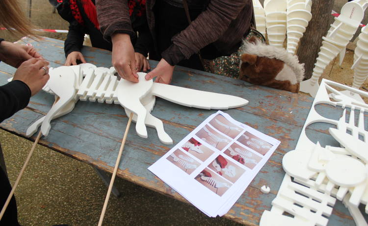 Image for Orfeo & Majnun: Open Animal Building Workshop (Notte Bianca)
