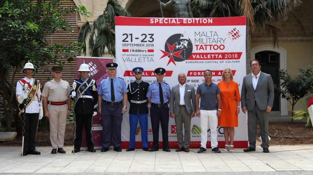Il-15-il Edizzjoni tal-Malta Military Tattoo se ssir fil-Belt Valletta