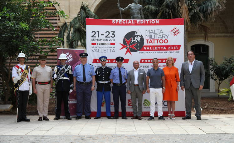 15th Edition of the Malta Military Tattoo to be held in Valletta