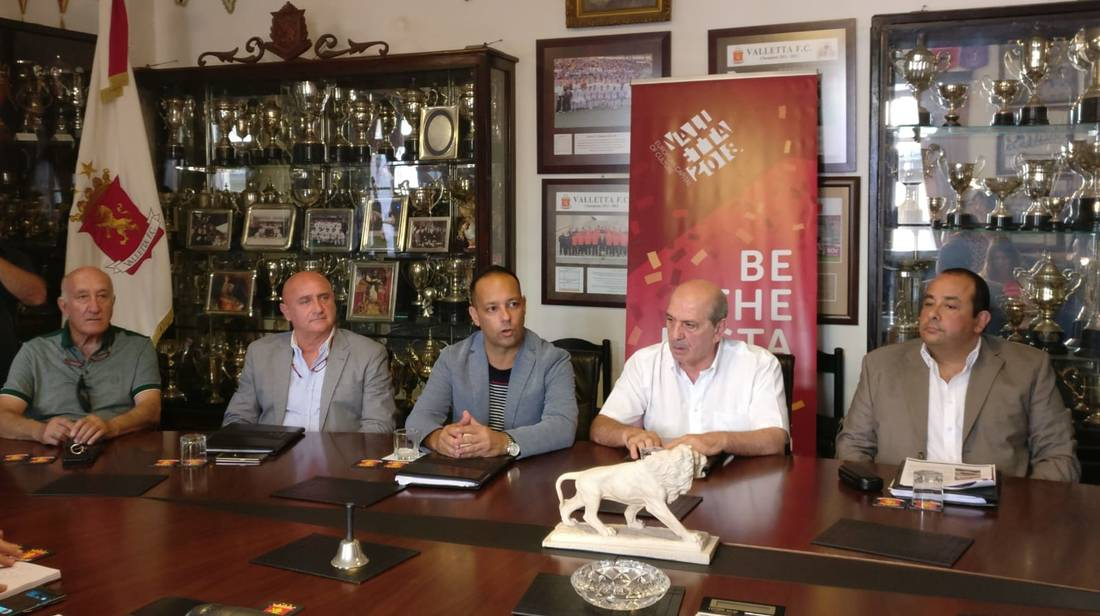 Ex-Manchester United Players in Malta for Valletta 2018