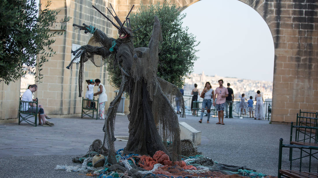 Valletta 2018 raises awareness on marine pollution