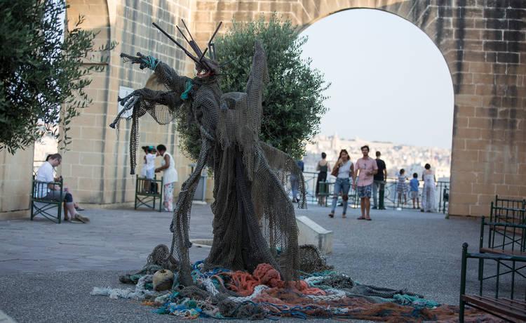 Valletta 2018 raises awareness on marine pollution