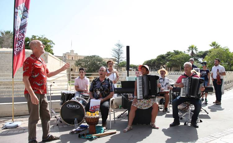 Community of 300 musicians comes together for Mdina Concert