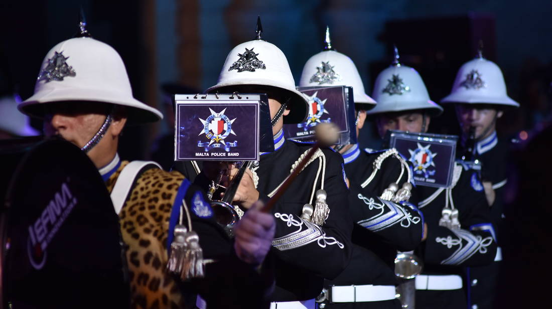Malta Military Tattoo in Valletta a Success