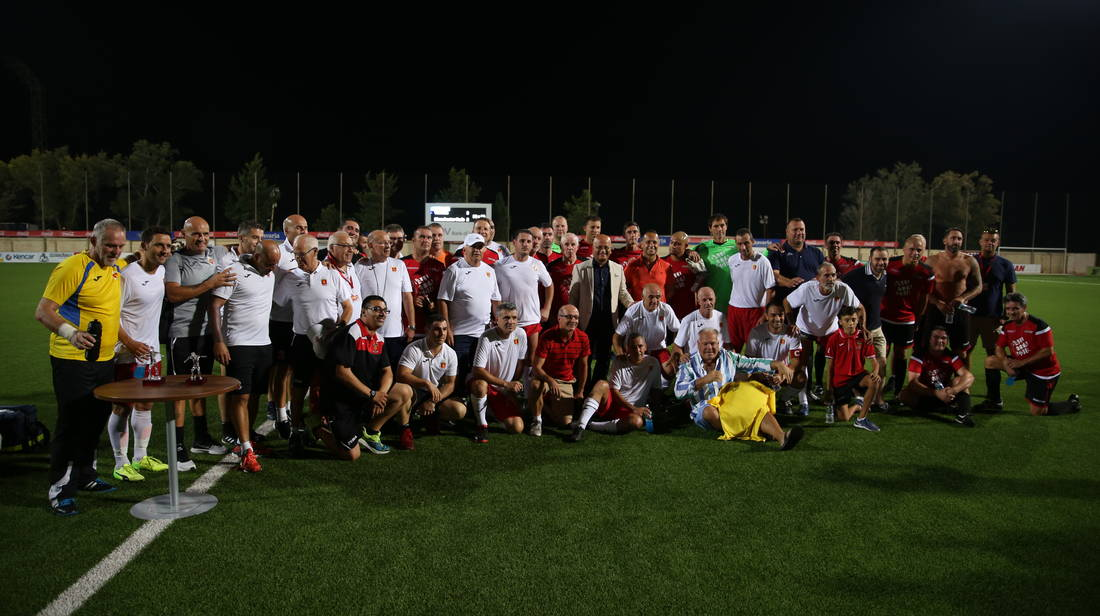Exhibition match between Valletta F.C. and Manchester Reds Legends XI was a success